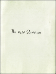 Page 3, 1939 Edition, Wyandotte High School - Quiverian Yearbook (Kansas City, KS) online yearbook collection