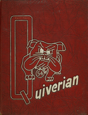1954 Edition, Wyandotte High School - Quiverian Yearbook (Kansas City, KS)