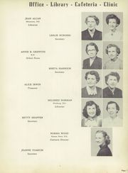 Page 11, 1954 Edition, Wyandotte High School - Quiverian Yearbook (Kansas City, KS) online yearbook collection