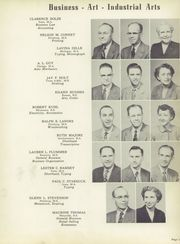 Page 15, 1954 Edition, Wyandotte High School - Quiverian Yearbook (Kansas City, KS) online yearbook collection