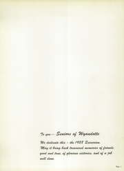 Page 5, 1958 Edition, Wyandotte High School - Quiverian Yearbook (Kansas City, KS) online yearbook collection