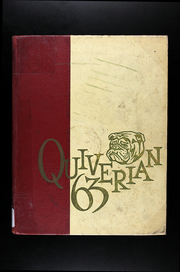 1963 Edition, Wyandotte High School - Quiverian Yearbook (Kansas City, KS)
