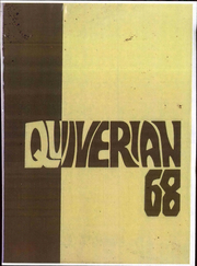 1968 Edition, Wyandotte High School - Quiverian Yearbook (Kansas City, KS)