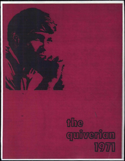 1971 Edition, Wyandotte High School - Quiverian Yearbook (Kansas City, KS)