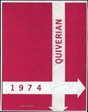 1974 Edition, Wyandotte High School - Quiverian Yearbook (Kansas City, KS)