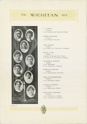 Page 16, 1915 Edition, East High School - Echoes Yearbook (Wichita, KS) online yearbook collection