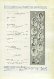 Page 11, 1917 Edition, East High School - Echoes Yearbook (Wichita, KS) online yearbook collection