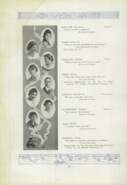Page 14, 1917 Edition, East High School - Echoes Yearbook (Wichita, KS) online yearbook collection