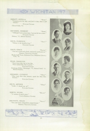 Page 15, 1917 Edition, East High School - Echoes Yearbook (Wichita, KS) online yearbook collection