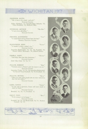 Page 17, 1917 Edition, East High School - Echoes Yearbook (Wichita, KS) online yearbook collection