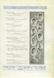 Page 9, 1917 Edition, East High School - Echoes Yearbook (Wichita, KS) online yearbook collection