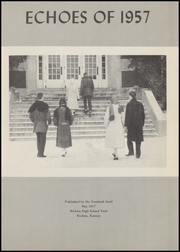 Page 7, 1957 Edition, East High School - Echoes Yearbook (Wichita, KS) online yearbook collection