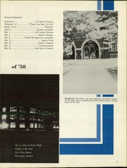 Page 7, 1958 Edition, East High School - Echoes Yearbook (Wichita, KS) online yearbook collection