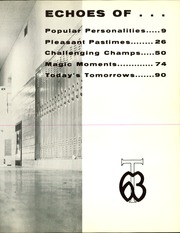 Page 7, 1963 Edition, Turner High School - Turnerite Yearbook (Kansas City, KS) online yearbook collection