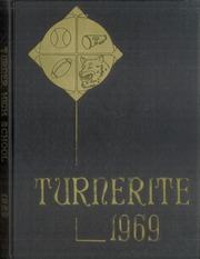 1969 Edition, Turner High School - Turnerite Yearbook (Kansas City, KS)