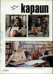Page 6, 1987 Edition, Kapaun Mount Carmel High School - Kapaun Yearbook (Wichita, KS) online yearbook collection
