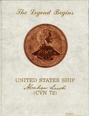 Abraham Lincoln (CVN 72) - Naval Cruise Book online yearbook collection, 1990 Edition, Page 1
