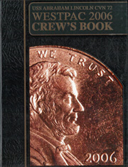 Page 1, 2006 Edition, Abraham Lincoln (CVN 72) - Naval Cruise Book online yearbook collection