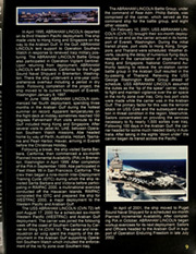 Page 13, 2006 Edition, Abraham Lincoln (CVN 72) - Naval Cruise Book online yearbook collection