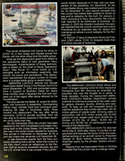Page 14, 2006 Edition, Abraham Lincoln (CVN 72) - Naval Cruise Book online yearbook collection