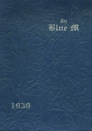 Page 1, 1939 Edition, Manhattan High School - Blue M Yearbook (Manhattan, KS) online yearbook collection