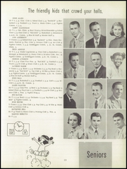 Page 17, 1952 Edition, Manhattan High School - Blue M Yearbook (Manhattan, KS) online yearbook collection