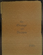 Abilene High School - Orange and Brown Yearbook (Abilene, KS) online yearbook collection, 1916 Edition, Page 1