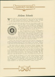 Page 13, 1928 Edition, Abilene High School - Orange and Brown Yearbook (Abilene, KS) online yearbook collection