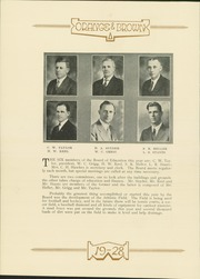 Page 14, 1928 Edition, Abilene High School - Orange and Brown Yearbook (Abilene, KS) online yearbook collection