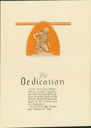 Page 7, 1928 Edition, Abilene High School - Orange and Brown Yearbook (Abilene, KS) online yearbook collection