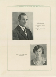 Page 14, 1929 Edition, Abilene High School - Orange and Brown Yearbook (Abilene, KS) online yearbook collection