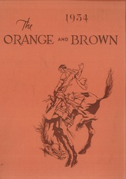 Page 1, 1934 Edition, Abilene High School - Orange and Brown Yearbook (Abilene, KS) online yearbook collection