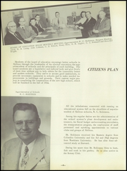 Page 12, 1954 Edition, Abilene High School - Orange and Brown Yearbook (Abilene, KS) online yearbook collection