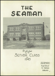 Page 3, 1945 Edition, Seaman High School - Seaman Yearbook (Topeka, KS) online yearbook collection