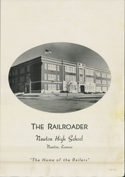 Page 3, 1952 Edition, Newton High School - Railroader Yearbook (Newton, KS) online yearbook collection