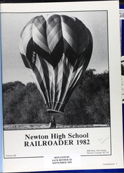 Page 5, 1982 Edition, Newton High School - Railroader Yearbook (Newton, KS) online yearbook collection