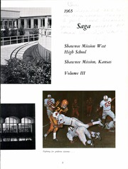 Page 7, 1965 Edition, Shawnee Mission West High School - Saga Yearbook (Shawnee Mission, KS) online yearbook collection