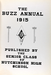 Page 6, 1915 Edition, Hutchinson High School - Allagaroo Yearbook (Hutchinson, KS) online yearbook collection