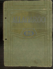1920 Edition, Hutchinson High School - Allagaroo Yearbook (Hutchinson, KS)