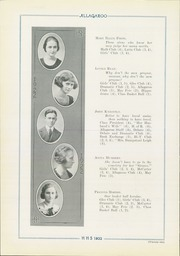 Page 36, 1922 Edition, Hutchinson High School - Allagaroo Yearbook (Hutchinson, KS) online yearbook collection