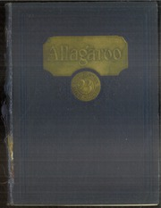 1923 Edition, Hutchinson High School - Allagaroo Yearbook (Hutchinson, KS)