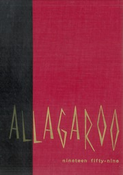 1959 Edition, Hutchinson High School - Allagaroo Yearbook (Hutchinson, KS)