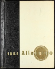 1961 Edition, Hutchinson High School - Allagaroo Yearbook (Hutchinson, KS)