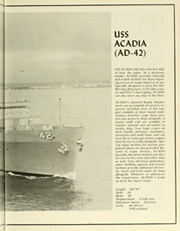 Acadia (AD 42) - Naval Cruise Book online yearbook collection, 1983 Edition, Page 7