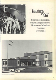 Page 9, 1967 Edition, Shawnee Mission South High School - Heritage Yearbook (Overland Park, KS) online yearbook collection