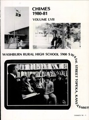 Page 5, 1981 Edition, Washburn Rural High School - Chimes Yearbook (Topeka, KS) online yearbook collection