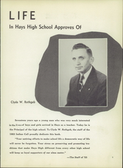 Page 13, 1953 Edition, Hays High School - Indian Call Yearbook (Hays, KS) online yearbook collection