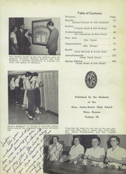 Page 7, 1955 Edition, Hays High School - Indian Call Yearbook (Hays, KS) online yearbook collection