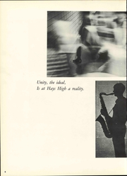 Page 14, 1968 Edition, Hays High School - Indian Call Yearbook (Hays, KS) online yearbook collection