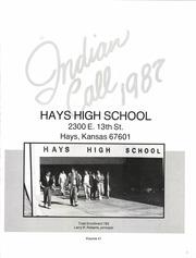 Page 5, 1987 Edition, Hays High School - Indian Call Yearbook (Hays, KS) online yearbook collection
